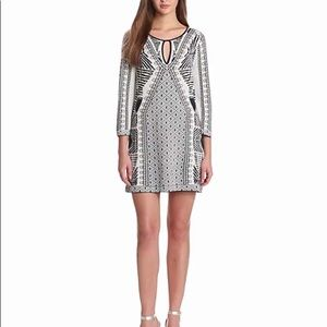 BCBG MaxAzria Megan Mini Sweater Dress Size Large